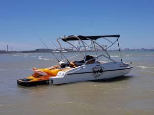 Sealver wave boat 525+seaado gti 155