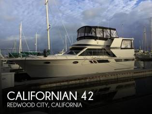 Californian 42 Aft Deck MY