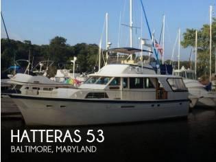 Hatteras 53 Classic