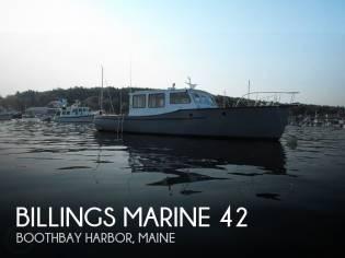Billings Marine 42 Maine Marine Patrol
