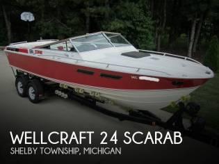 Wellcraft 24 Scarab