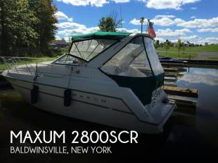 Maxum 2800SCR