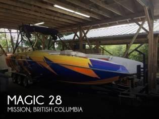 Magic 28 Deck Boat