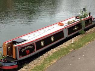 Louis & Joshua 58' Trad Stern Narrowboat