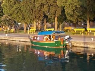 Custom Mahagoni Barca da laguna
