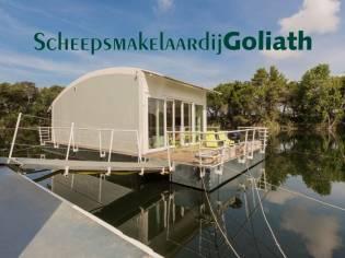 Houseboat Napels