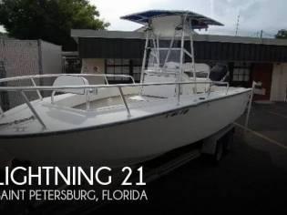 Lightning 21 Open Fisherman