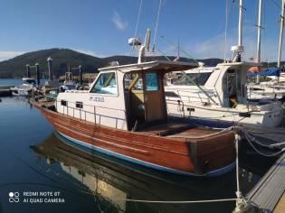 Barco de Madera de Teca