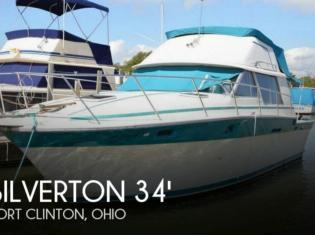 Silverton 34 Convertible