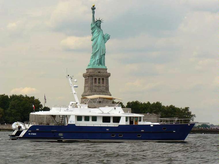 catamaran trawler YC80