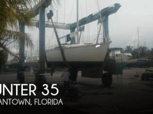 Hunter 35 Legend