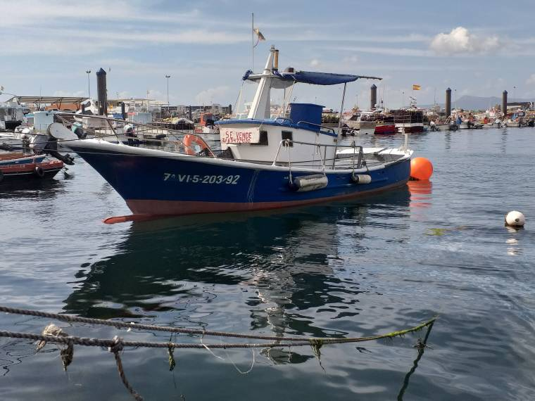 Barco pesca deportiva