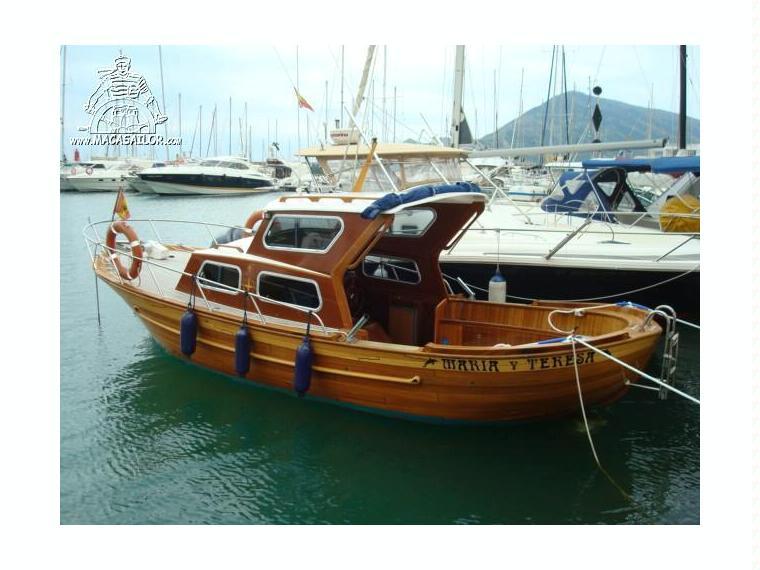 Clasico madera en alicante barcos a motor de ocasi n for Madera para tejados de segunda mano