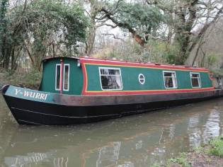 Narrowboat 40' Clubline Cruiser Stern