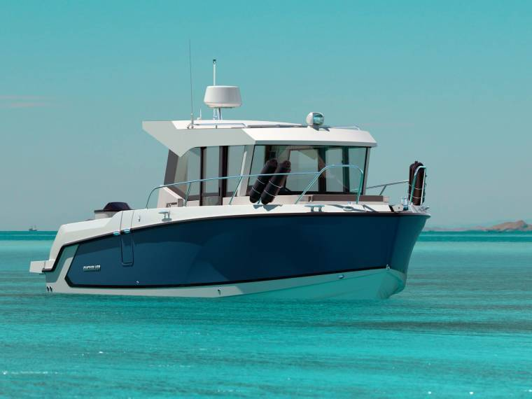 Captur 805 Pilothouse