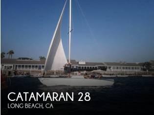 Custom 28 Catamaran
