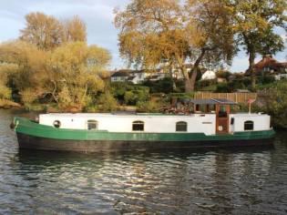 48' Replica Dutch Barge Widebeam
