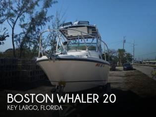 Boston Whaler 205 Conquest