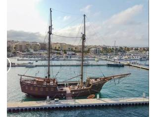 Commercial Pirate Ship Replica