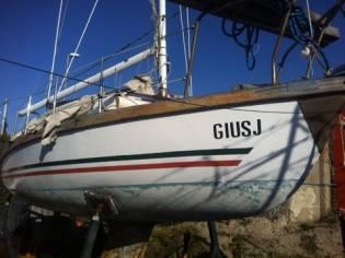 Barca a vela 550
