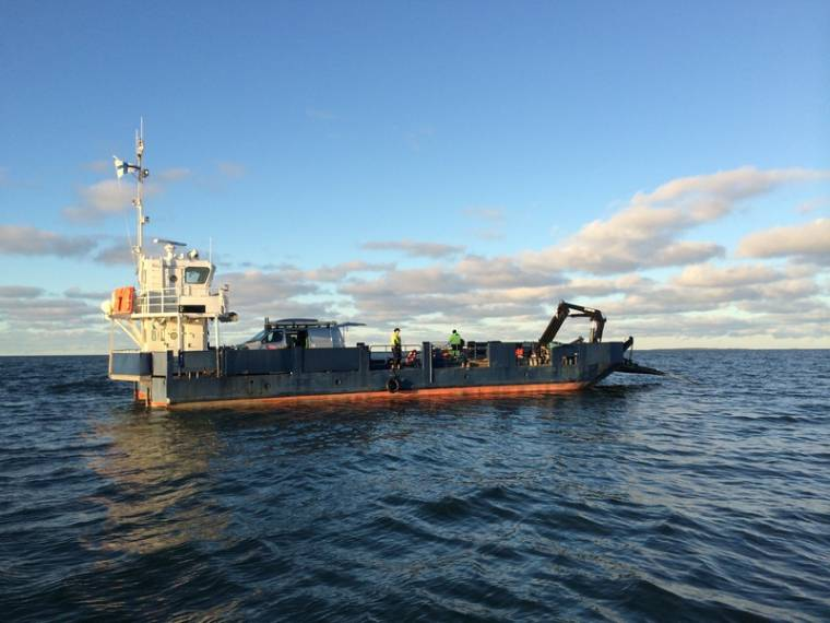work boat ferry