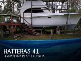 Hatteras 41 Yacht Fish