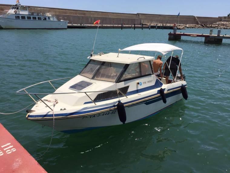 fiber craft star fisher 540 fuera borda en cn oropesa de