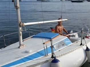 Chacha One Seegel boot, general überholt