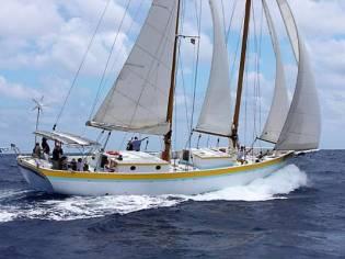 Custom 73ft Staysail Schooner