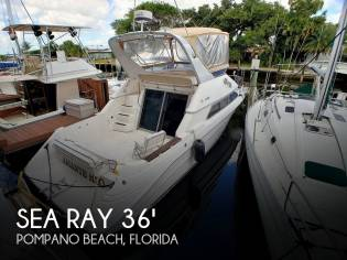 Sea Ray 350 Express Bridge
