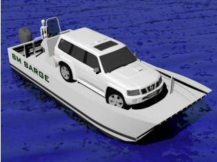 Landing Barge Aluminium