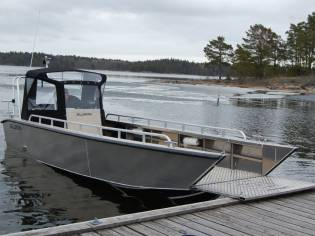 Alukin SPW 750 werkboot