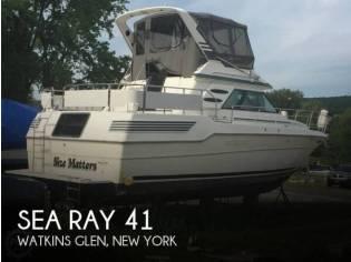Sea Ray 410 Aft Cabin