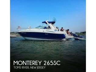 Monterey 265 Sport Cruiser