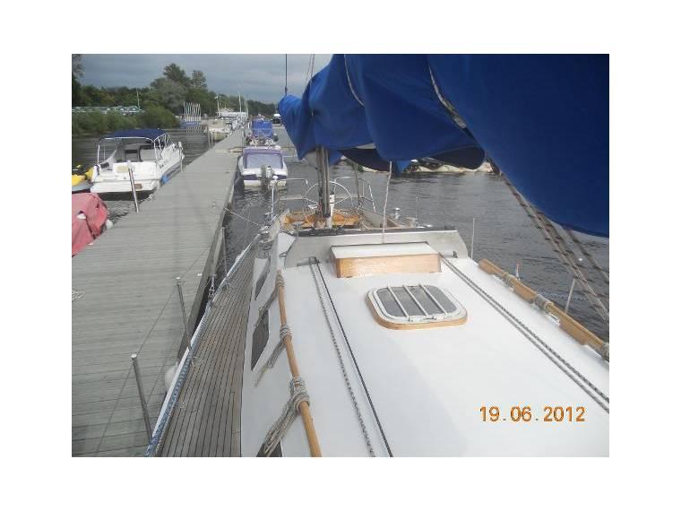 Wooden 12M Yacht