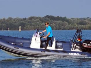 RIB Schlauchboot Brig Navigator 570