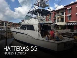 Hatteras 55 Flybridge Convertible