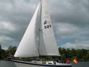 Hallberg-Rassy 29 Scandinavia - Süßwasserschiff