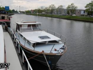 Motorboat Beautiful Retro Boat