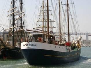 Chantier Naval de Caen sail / 3 mast Schooner