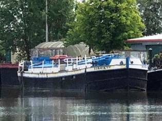 Barge Converted Steel Canal Boat