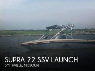 Supra 22 SSV Launch