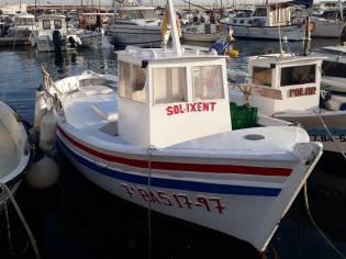 Embarcación tipica de pesca