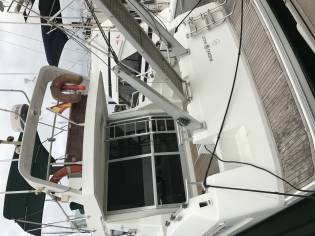 Yarding yacht