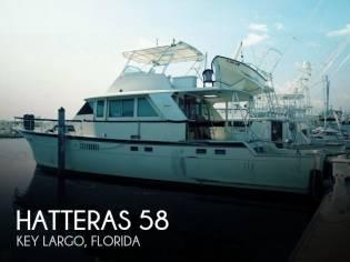 Hatteras 58