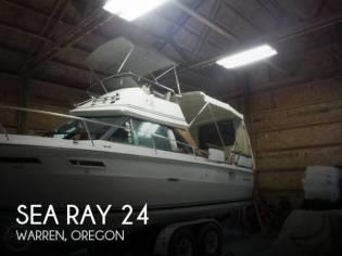 Sea Ray SRV 240 Sedan bridge
