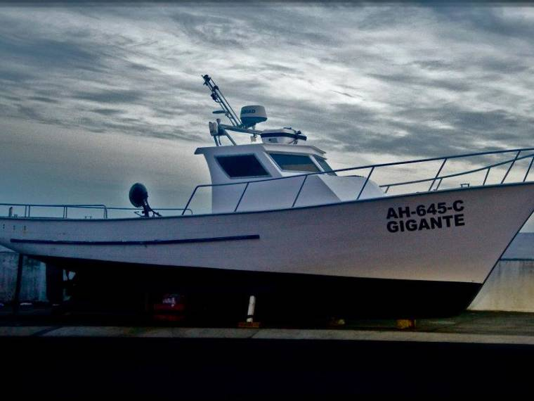 Barco Turismo e Pesca