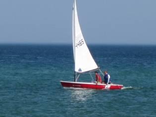 DINGUE - Barco Vela Ligeira