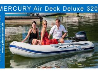 Mercury - 3,20 Air Deck mit Motor u. Trailer