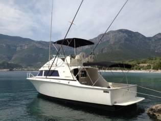 Bertram 33 Flybridge Cruiser